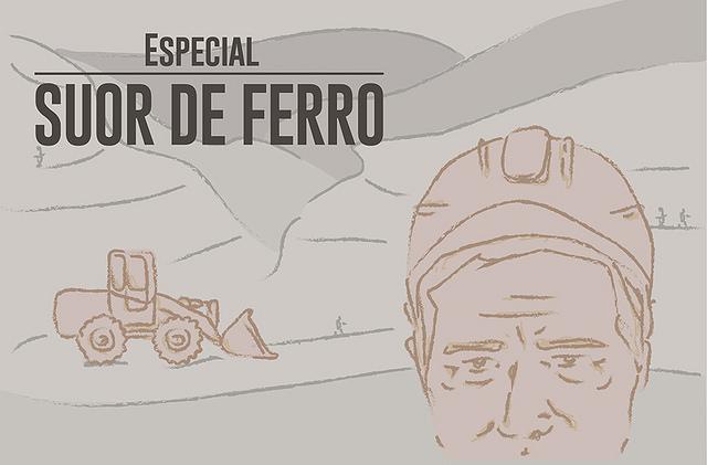 Suor de ferro: a realidade dos trabalhadores da mineração no Brasil