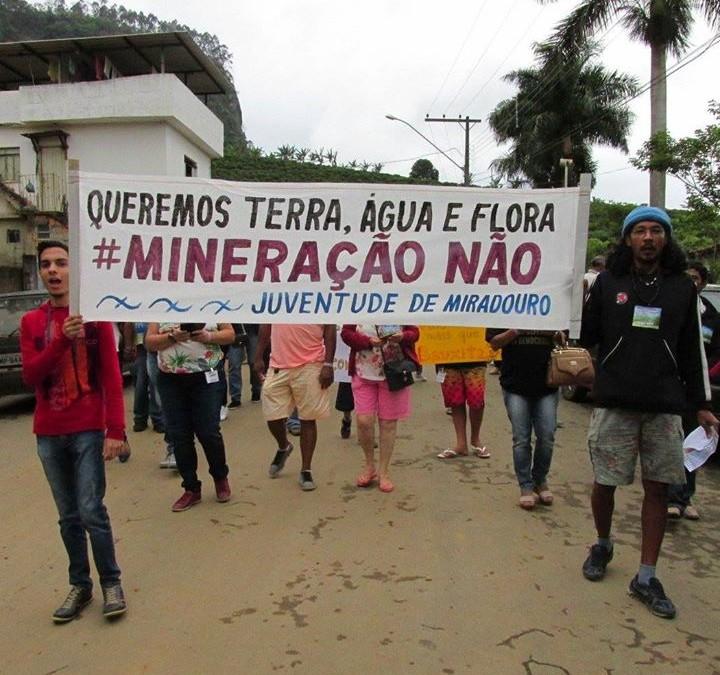 Comunidade de Belisário diz: Mineração Aqui Não!