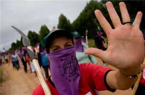 Mulheres da Via Campesina se posicionam contra a reforma da Previdência Social