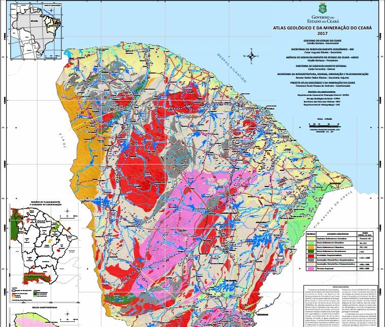 CE: Governo lança Atlas para atrair investimentos na mineração e MAM afirma que falta olhar para as reais necessidades do povo
