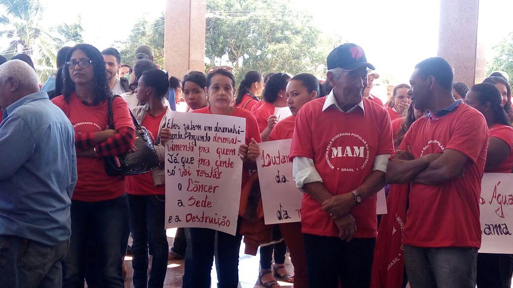 BA: Ato reivindica soberania dos povos sobre a mineração no Alto Sertão e contra a criminalização de lideranças comunitárias