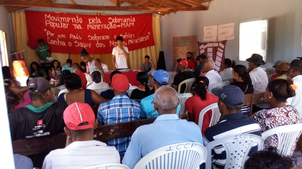 BA: quilombolas debatem problemas em território causados pela mineração