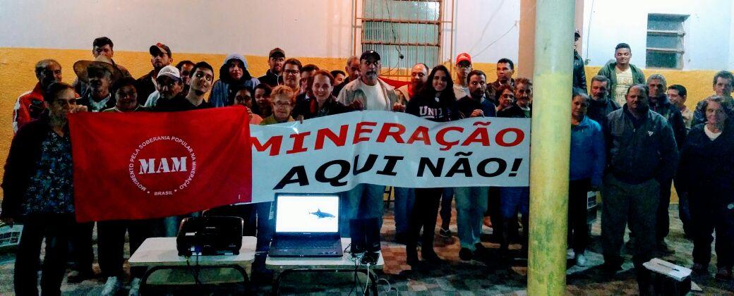 Assembleia Popular é realizada na comunidade de Santa Bárbara, em Miradouro (MG)