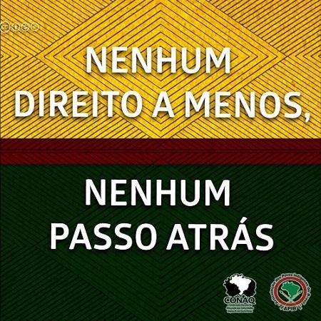 Pela efetivação dos direitos das comunidades quilombolas, gritamos NÃO ao marco temporal!