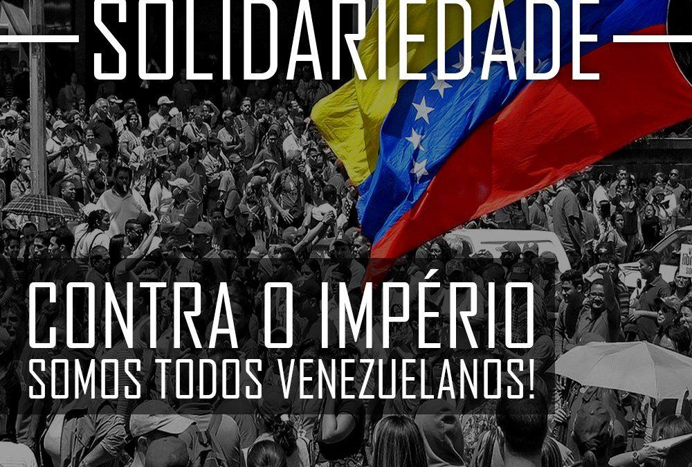 Contra o império, somos todos Venezuelanos