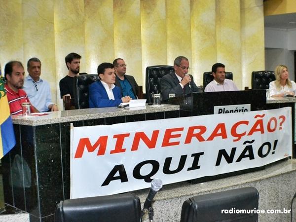 Possibilidade de mineração na região de Muriaé foi discutida em Audiência na Câmara Municipal