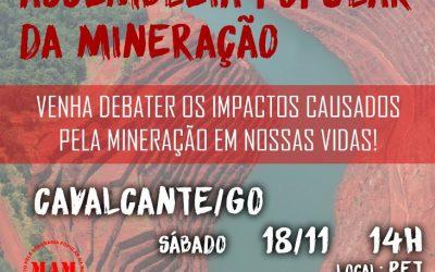MAM realiza Assembleia Popular da Mineração em Cavalcante