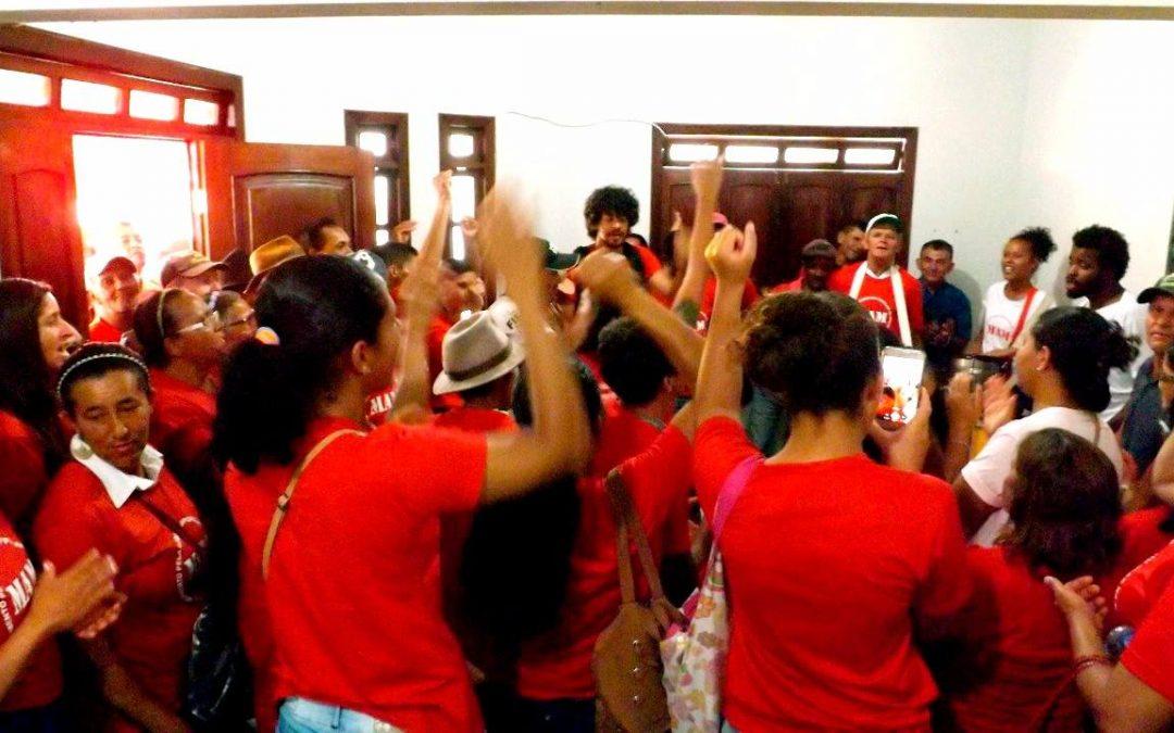 Ocupação na sede do Inema é resultado de organização política de comunidades