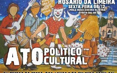 MG: Ato Político de enfrentamento à mineração acontece nesta sexta, 8/12