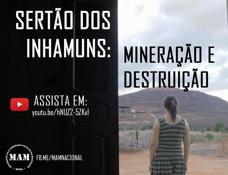 Vídeo destaca a contradição entre o território camponês e a indústria mineral