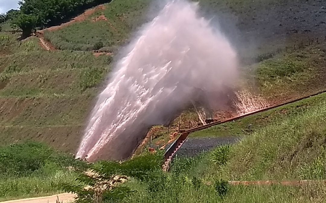 World's Largest Slurry Pipeline Breaks and Causes Havoc in Minas Gerais, Brazil