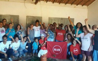 Mulheres da Bahia rumo ao Encontro Nacional do MAM