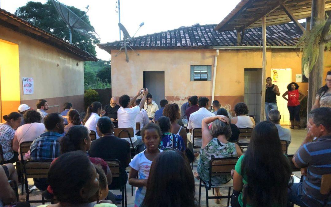 Comunidades abaixo da barragem da Anglo avançam na luta pelo reassentamento coletivo em MG!!!
