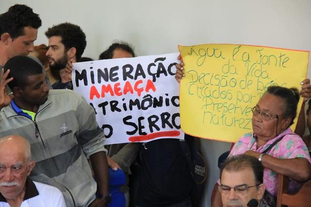 Decisão judicial impede mineração no Serro (MG)