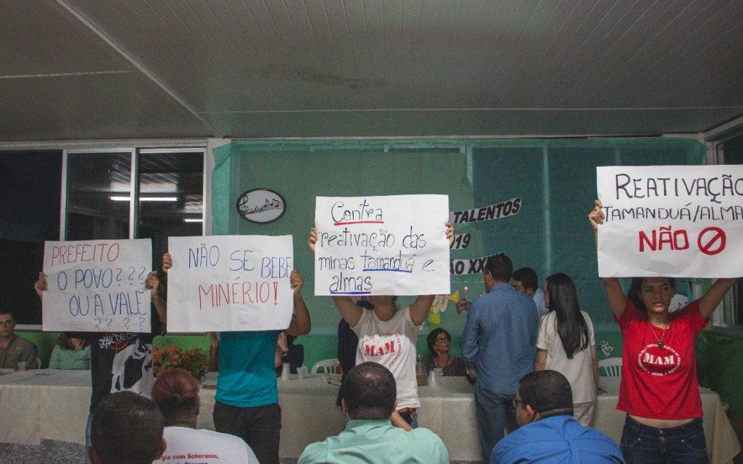 Moradores de Catas Altas (MG) dizem não à projeto de reativação da mina Tamanduá