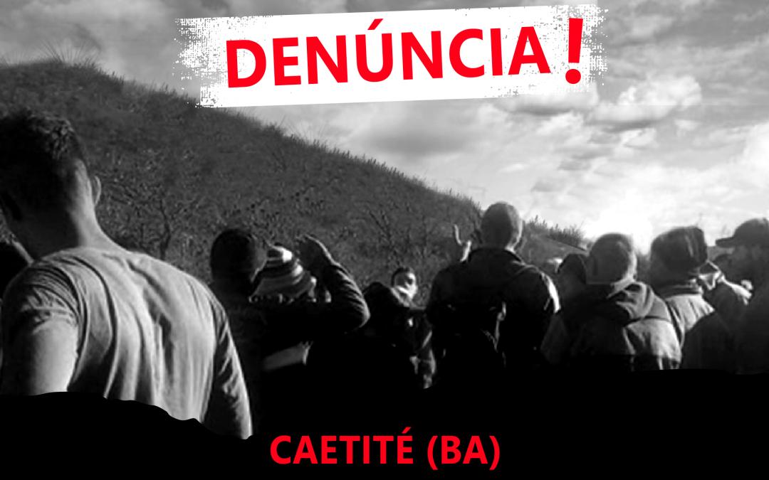 Denúncia: mineração não para e ameaça vida de comunidades em Caetité (BA)