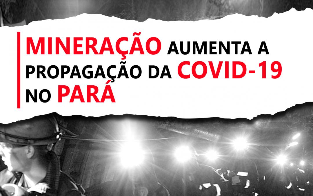 Sudeste do Pará vê crescente de óbitos pela Covid-19 com mineração a todo vapor