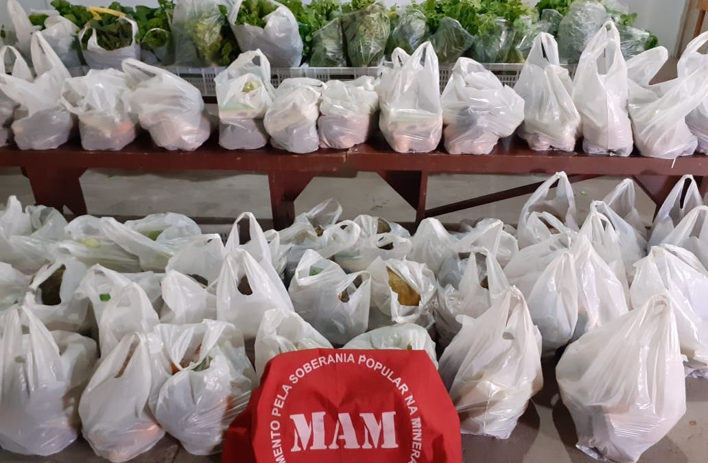 MAM realiza nova entrega de alimentos à famílias no Rio Grande do Sul