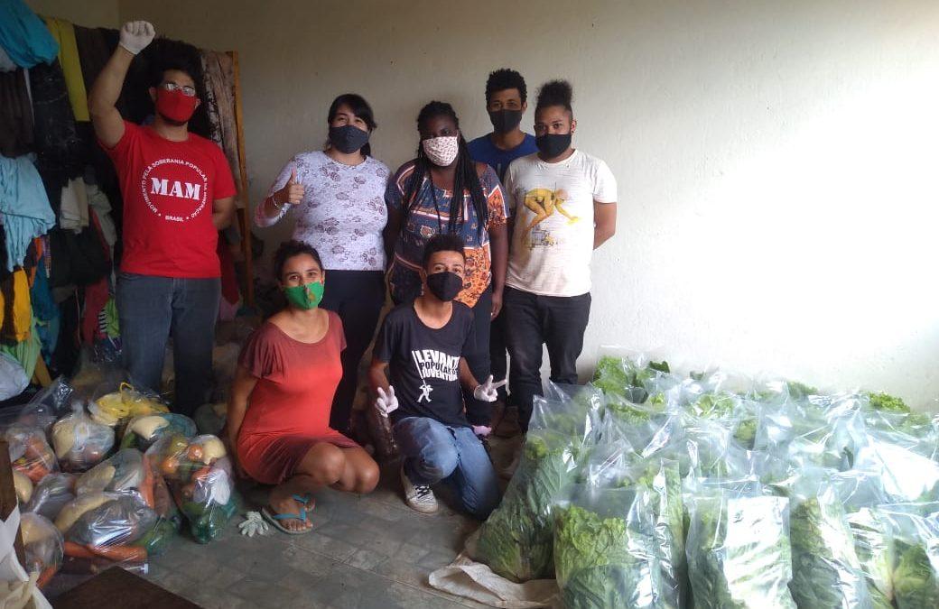 Periferia Viva entrega cerca de 1 tonelada de alimentos da Agricultura Familiar em MG