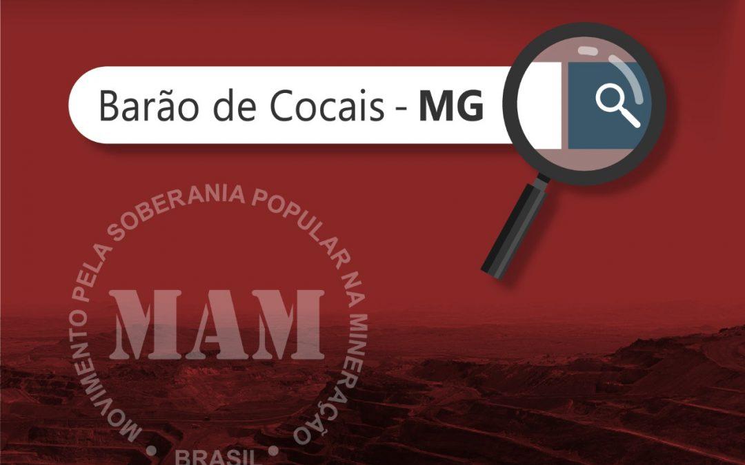 O jogo de um só vencedor da Vale em Barão de Cocais (MG)