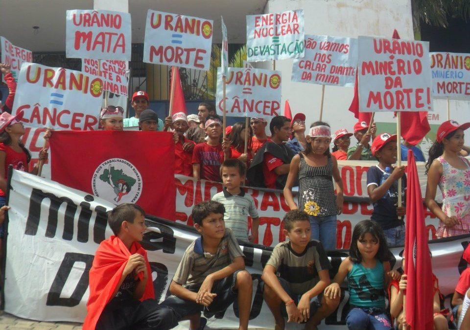 Roda de conversa aborda riscos de mineração de urânio em Santa Quitéria (CE)