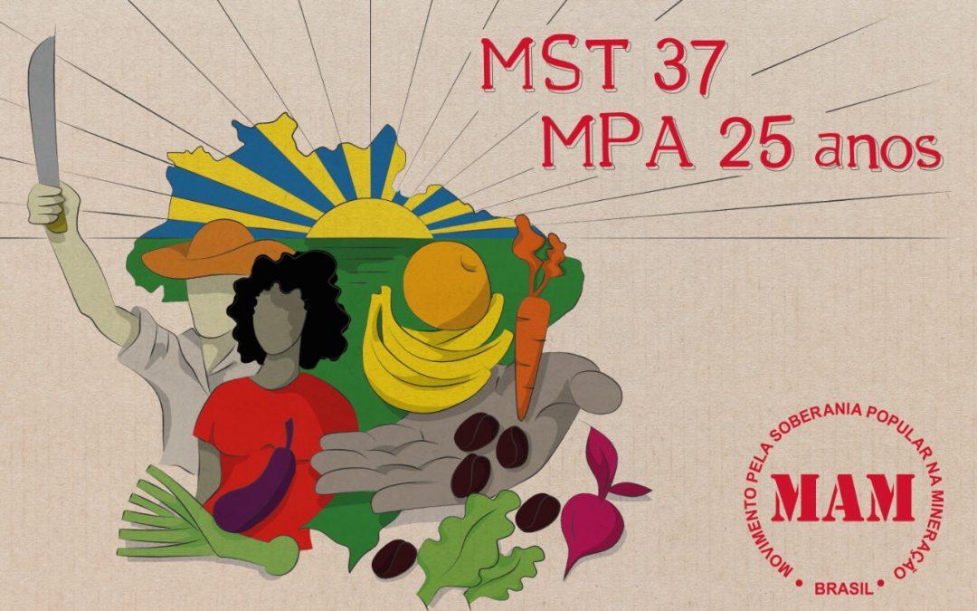 MST e MPA: décadas de lutas no campo brasileiro!