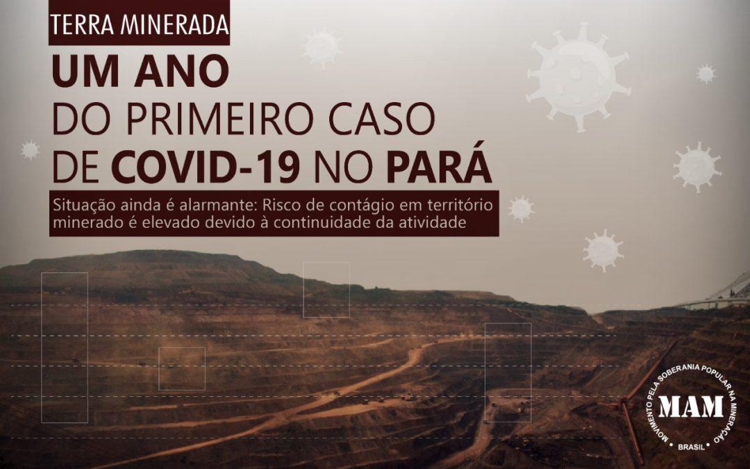 Um ano do primeiro caso de Covid-19 no Pará: situação ainda é alarmante