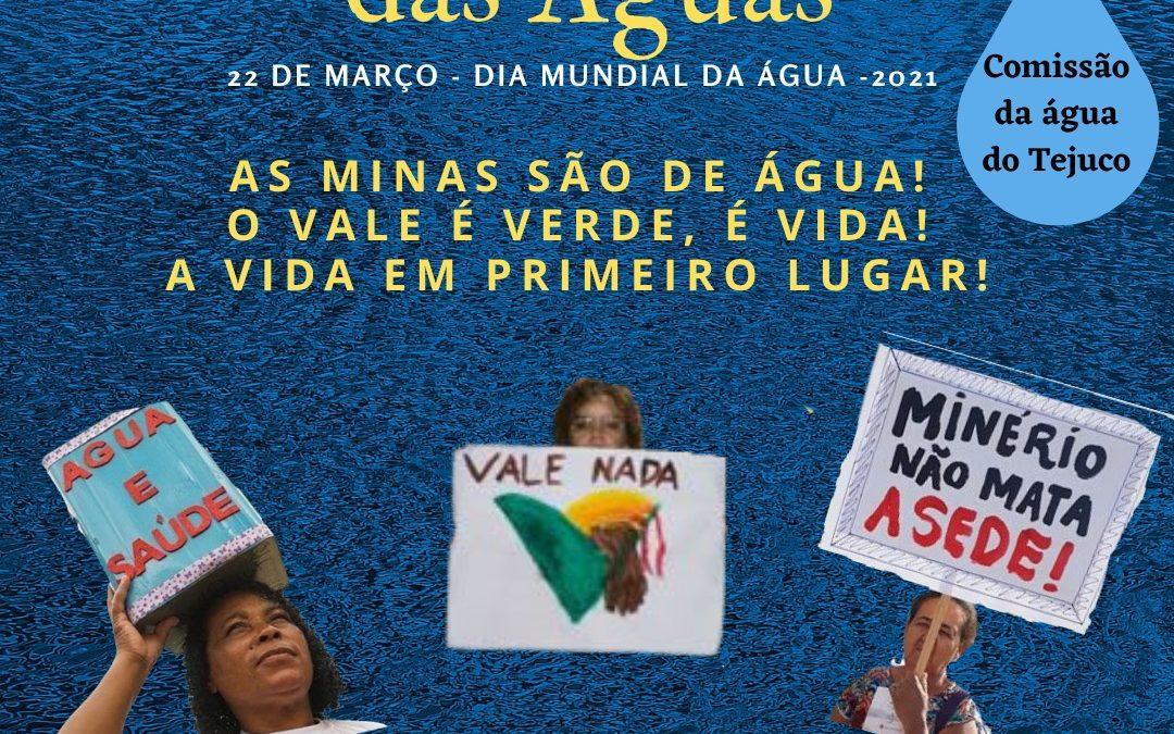 22 de Março: Manifesto da Comissão da Água