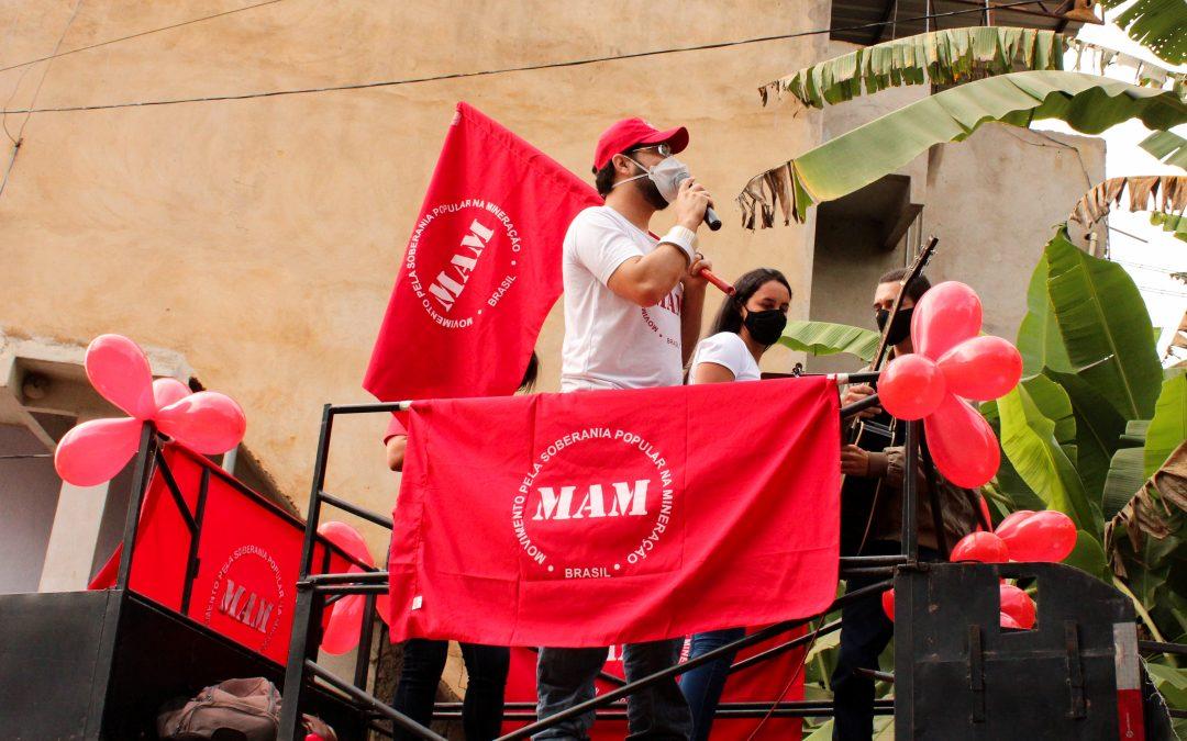 Primeira Carreata Regional em Defesa da Vida e Contra a Mineração na Região do Caparaó (MG)